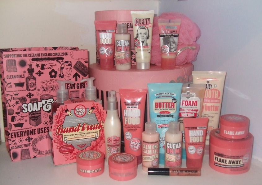 Soap & Glory 3 For 2 Offers on these products.