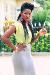 Stephanie Okereke, braids by Kanekalon.