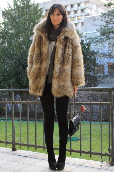 Fake Fur Jacket From H&m