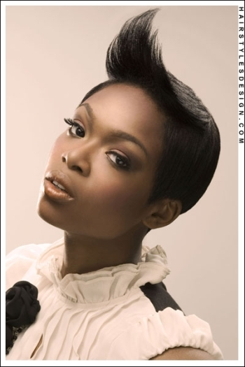 Incredible Beauty Styles For Hair With Shaved Sides Art Becomes You Short Hairstyles For Black Women Fulllsitofus