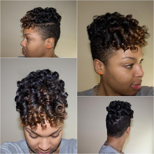 set on short natural hair roller set hairstyles short hair