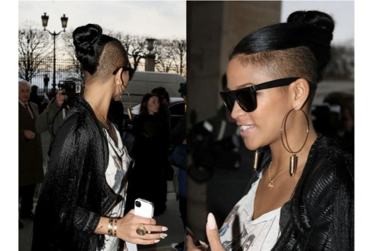 Beauty: Styles For Hair With Shaved Sides