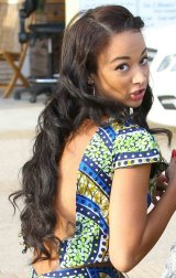 Hot or Not: Draya Michele in Preme Houston's African Print Crop Top and Shorts