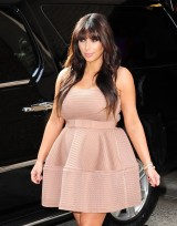 Hot or Not: Kim Kardashian's Lanvin Flared Sleeveless Dress