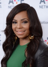 Hot or Not: Ashanti's Stella McCartney Green Mesh Insert Colour-Block Dress