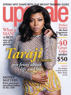 Editorial: Taraji P. Henson By Allen Cooley For Upscale Magazine April 2014