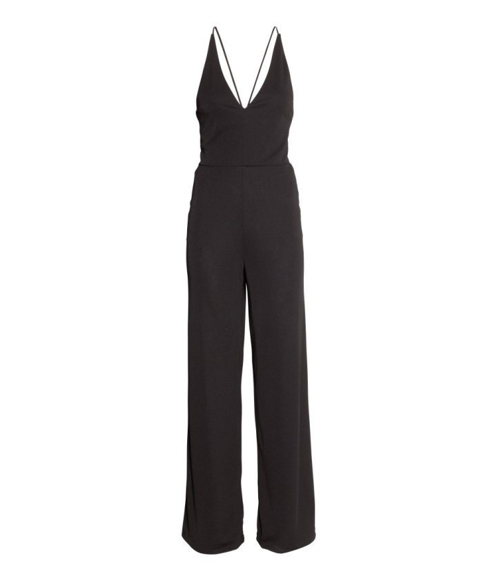 hm black jumpsuit