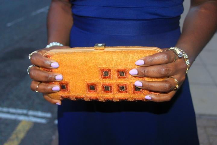 lipsy bottega veneta clutch manicure