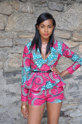 ABY Lust Item Of The Day: The Ankara Print Justina Suit by Chen Burkett NY on Zuvaa