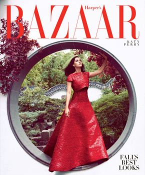 Editorial: Katy Perry For Harper's Bazaar October 2014