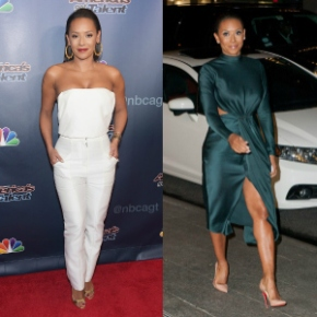 Recreate Her Look: Mel B's America's Got Talent Finale Sally La Pointe White Trousers and White TopEnsemble