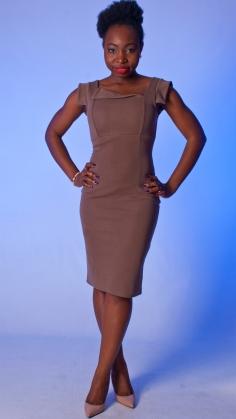 nude dress for dark skin