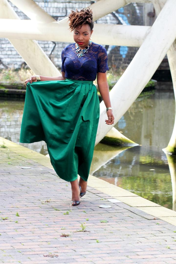 maxi skirt 69 a