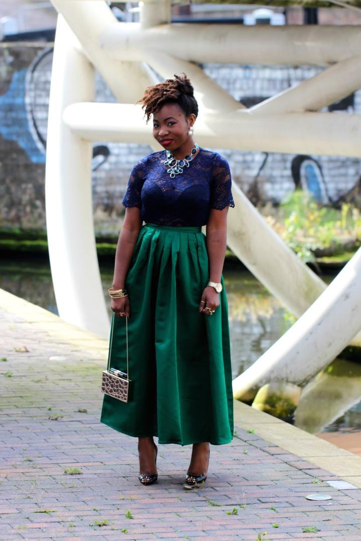 maxi skirt choies a