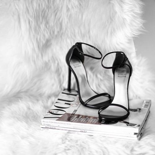 strappy heels minmalist