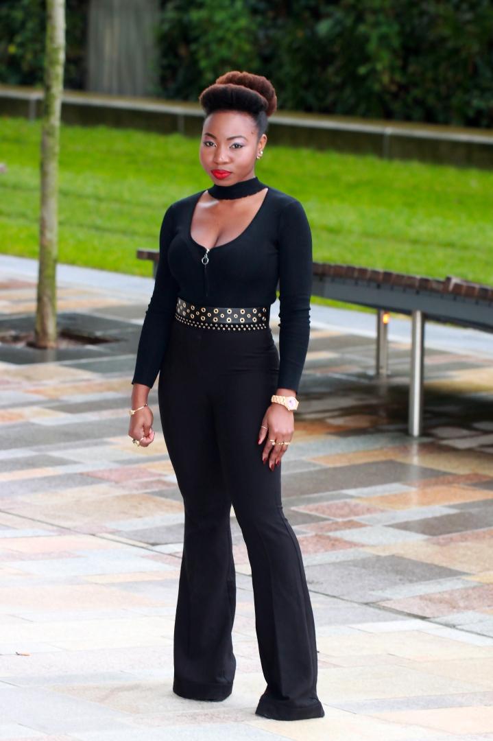 black dahlia black on black fashion