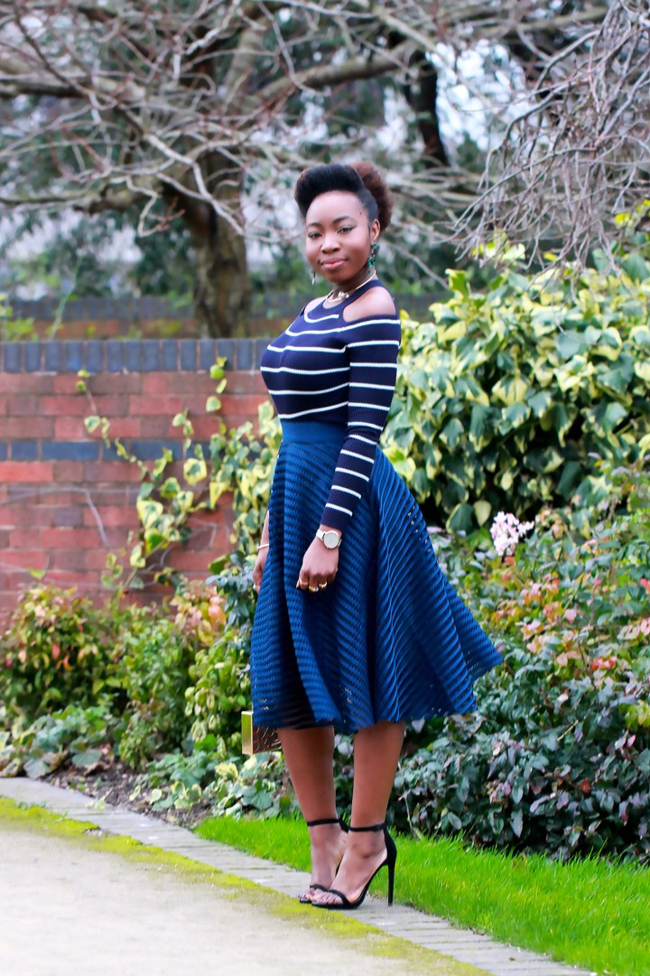 striped jumper outfit a