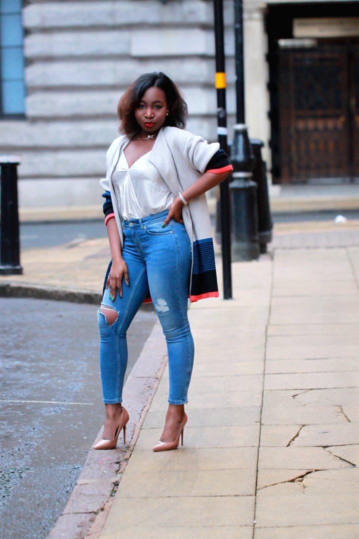 choies knitwear mocha nude patent heels a
