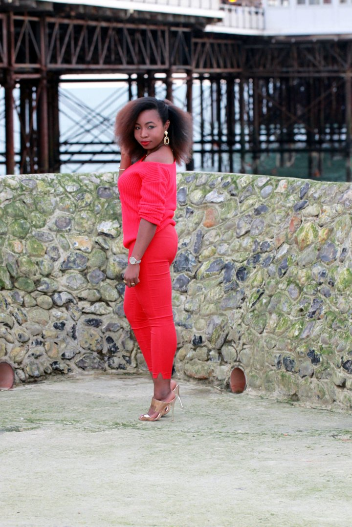 missguided ootd red on red a