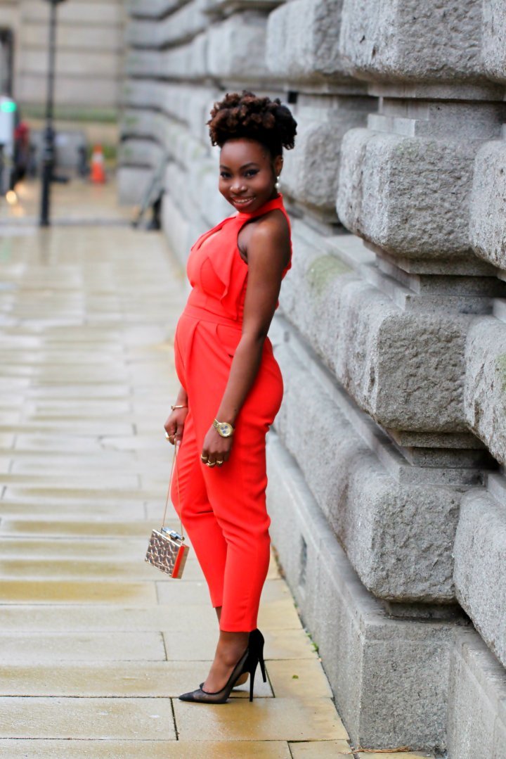 red frill river island jumpsuit style mesh heels a
