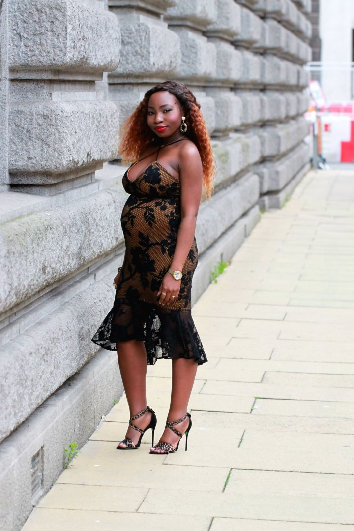 black lace overlay dress topshop heels a